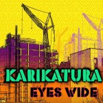karikatura eyes wide