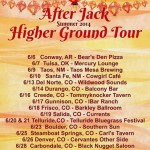 After Jack Higher Ground summer 2014 tour