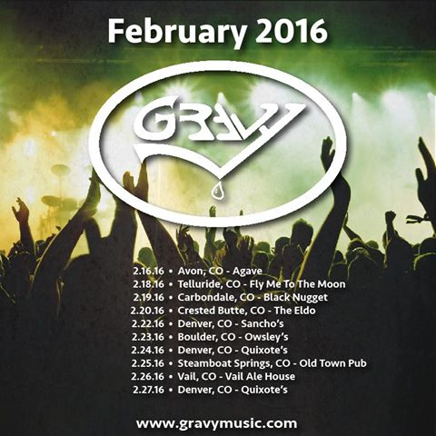Gravy winter 2016 tour