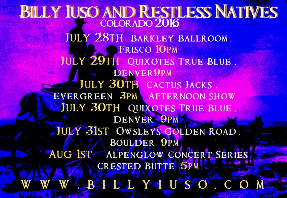 Billy Iuso Colorado 2016