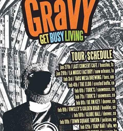Gravy 2017 winter tour
