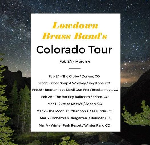 LBB Colorado tour